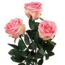 Rose decorative seta e schiuma