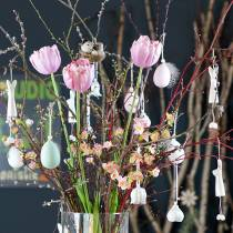 Tulipano bianco-rosa 86 cm 3 pezzi