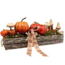 Funghi di legno da attaccare 20 cm 6 pezzi