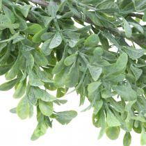 Ghirlanda di piante artificiali, viticcio di bosso, verde decorativo L125cm