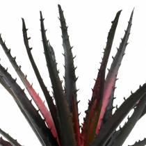Aloe vera viola artificiale 26 cm
