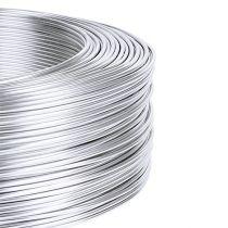 Filo di alluminio 1mm 500g argento