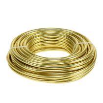 Filo di alluminio 5mm 500g oro
