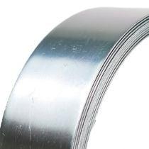 Filo di alluminio filo piatto argento 30mm 3m