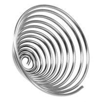Vite per filo metallico vite argento 2mm 120cm 2 pezzi
