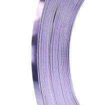 Filo piatto in alluminio lavanda 5mm 10m
