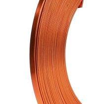 Filo piatto di alluminio arancione 5mm 10m