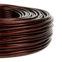 Filo di alluminio Ø2mm 500g 60m marrone