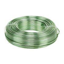 Filo di alluminio Ø2mm 500g 60m Verde menta