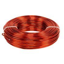 Filo di alluminio Ø2mm 500g 60m arancione