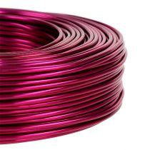 Filo di alluminio Ø2mm 500g 60m rosa