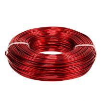Filo di alluminio Ø2mm 500g 60m rosso