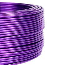 Filo di alluminio Viola Ø2mm 500g (60m)