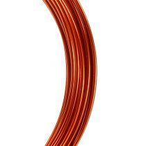 Filo di alluminio 2mm 100g arancione