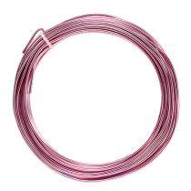 Filo di alluminio 2mm 100g rosa