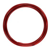 Filo di alluminio 2mm 100g rosso