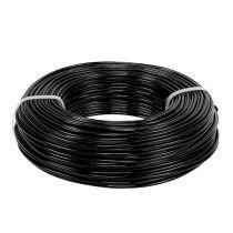 Filo di alluminio Ø2mm 500g 60m nero