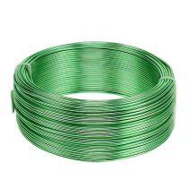 Filo di alluminio Ø2mm verde 500g (60m)