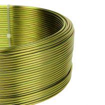 Filo di alluminio Ø2mm verde oliva 500g (60m)