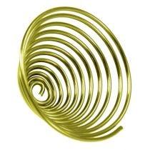 Vite in alluminio vite in metallo oro 2mm 120cm 2 pezzi
