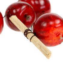 Ghirlanda di mele rossa L 110cm