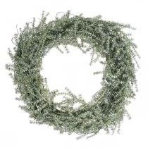 Ghirlanda decorativa di asparagi asparagi artificiali bianco, grigio Ø32cm