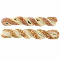 Bastone di sesamo e bastoncino di semi di papavero Manichino alimentare artificiale Assorted 25cm 2pcs