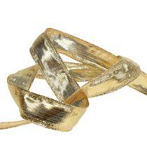 Banda con filo filo oro 25m