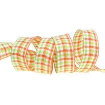 Karoband Green / Orange 25mm 15m