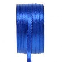 Nastro decorativo blu 6mm 50m