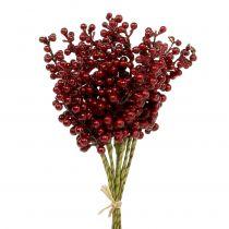 Berry pick rosso 23 cm 12 pezzi