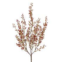 Ramo di bacche rosso artificialmente 48cm 1pc