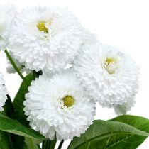 Bellis Bouquet White 24cm 3 pezzi