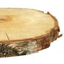 Fetta di betulla naturale Ø30cm - 35cm