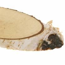 Fette di betulla ovale naturale 4×8 cm 1kg