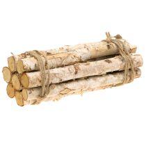 Rami di betulla impacchettati naturale 30 cm 8 pezzi