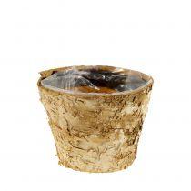 Vaso in betulla Ø12cm H10cm