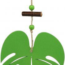 Foglia 14,5 cm per appendere verde