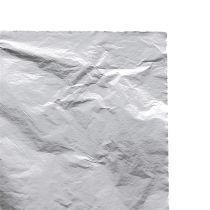 Foglie in metallo foglia argento 100 pezzi