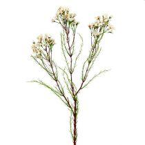 Ramo fiorito verde, bianco 80 cm 3 pezzi