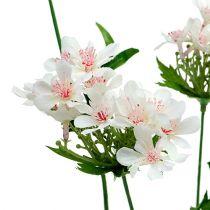 Ramo fiorito bianco L70cm