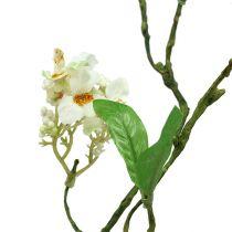 Ramo fiorito Bianco L 65 cm 1pz