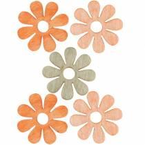 Fiori da spolverare, decorazioni primaverili, fiori in legno, fiori da spargere 144St