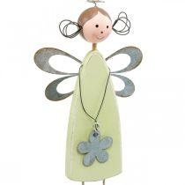 Fata dei fiori con gambe d'albero, primavera, piccoli elfi con fiore, appendiabiti da decorazione elfo fiore 3pz