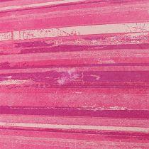 Carta floreale 37,5 cm Strisce rosa 100 m