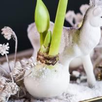 Cera per immersione fiori 1kg bianca