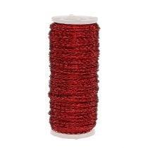 Filo effetto brodo Ø0.30mm 100g / 140m rosso