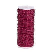 Filo effetto brodo Ø0.30mm 100g / 140m rosa