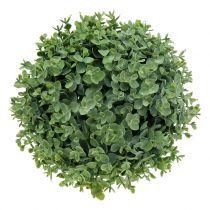 Palla di bosso verde artificiale Ø26cm