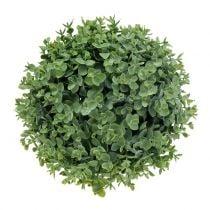 Palla di bosso verde artificialmente Ø23cm